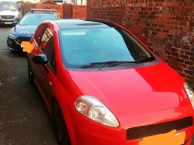 Car is found in Preston