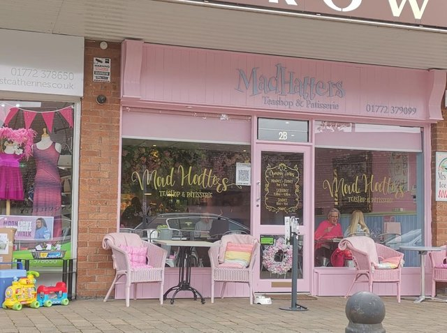 The Mad Hatters Cafe in Longton