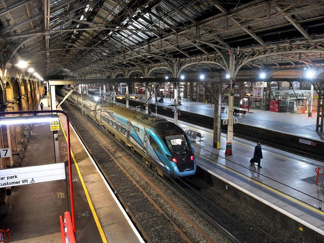 Drunk man who walked across tracks at Preston railway station is arrested.