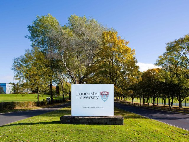 The entrance to Lancaster University's Main Campus. Some students say their university experience has been greatly affected by the pandemic.