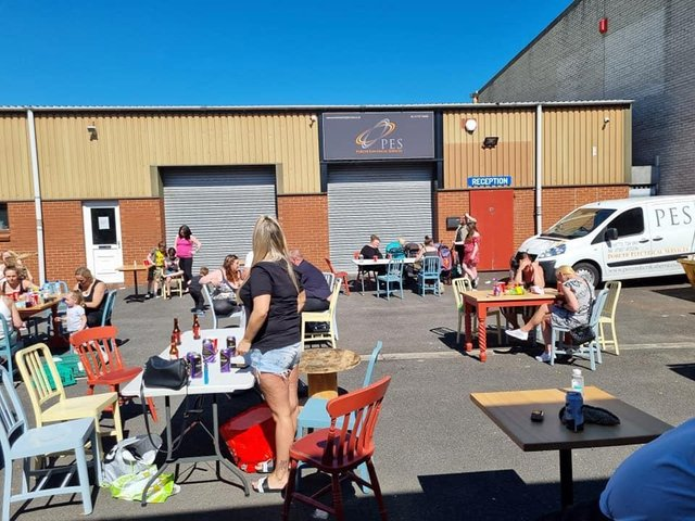 The community BBQ was hosted at their new Eldon Street premises