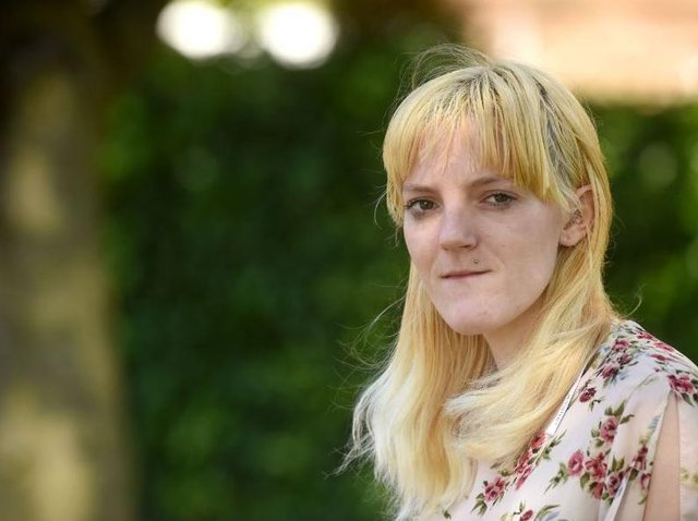 Hollie, 23, claims the damp conditions in her flat gave her chest infections