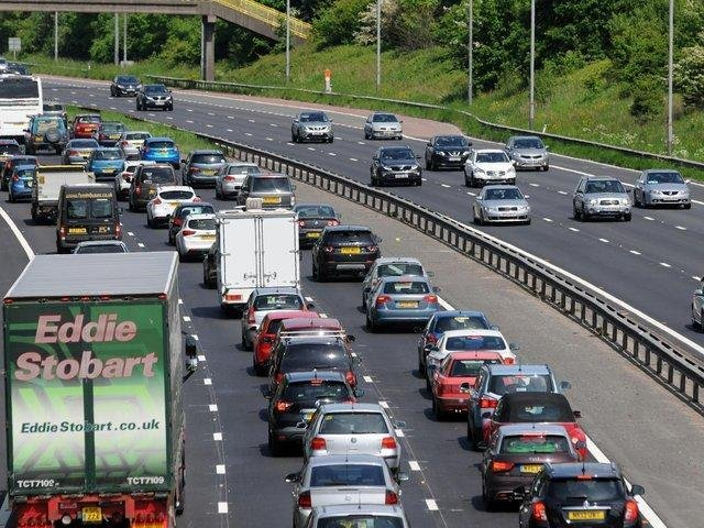 Around 40 drivers are being prosecuted for turning around on the M65 to avoid long queues after a serious crash on Sunday afternoon (May 30)