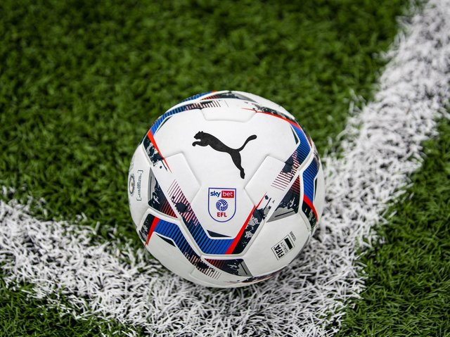 The new PUMA football which will be used in the EFL next season