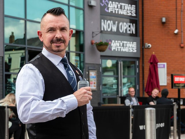 Barry Graham, head doorman at Wetherspoon's Sir Henry Tate, is chairman of Chorley Pubwatch