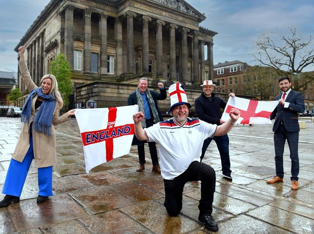 Fans are looking forward to the screening of England's Euro matches