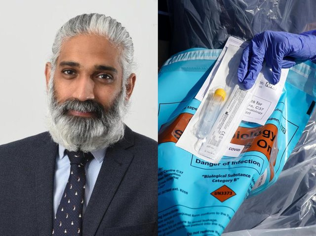 Dr. Sakthi Karunanithi has been calling for Lancashire to be prioritised for the vaccine rollout since late last year