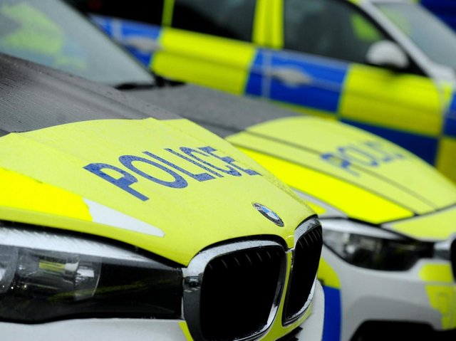 """A man in his 20s is """"fighting for his life"""" in hospital after crashing while being pursued by police in Wigan shortly before 4.45pm on Sunday (June 6)"""