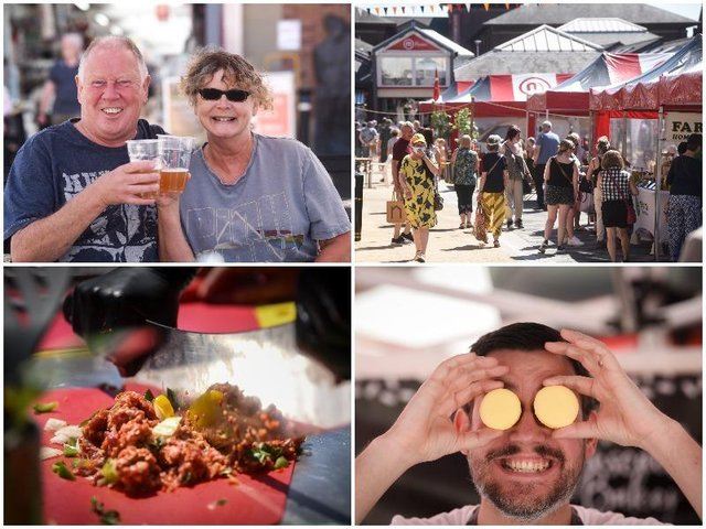 A Taste of Chorley food festival returned with a bang this weekend.