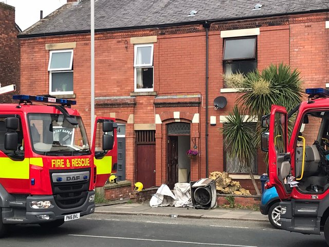 The home in Leyland Lane where a tumble dryer caught fire this morning (Monday, June 7)