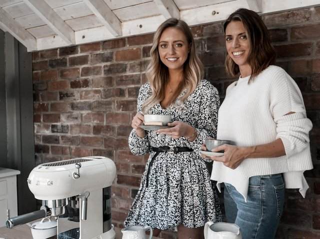 Sisters Emmie Brookman (left) and Rebecca Kane of Silver Mushroom