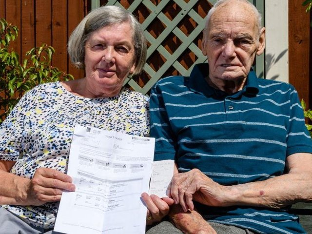 Elizabeth and Edward claim they are owed almost £1,800 in flight refunds