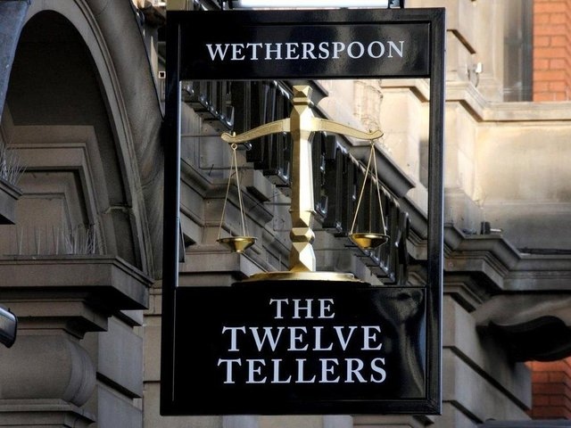 Wetherspoons says 19 staff are self-isolating after an outbreak of Covid at its Twelve Tellers pub in Preston city centre