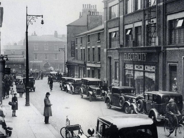 Lune Street where Ashcroft worked was a busy throughfare