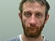 Michael Ellison (pictured) who burgled a house in Accrington while the occupants slept has been jailed for 876 days. (Credit: Lancashire Police)