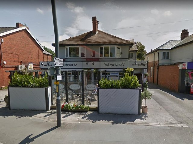 Salvatore's in Liverpool Road, Penwortham said it has closed from today (Thursday, June 10) until next Wednesday (June 16) after a number of staff were contacted by NHS Test and Trace and told to self-isolate. Pic: Google