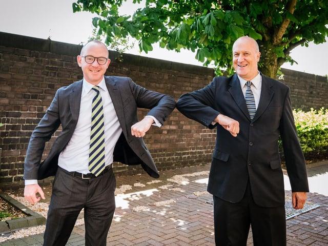 Andrew Snowdon and Andy Pratt
