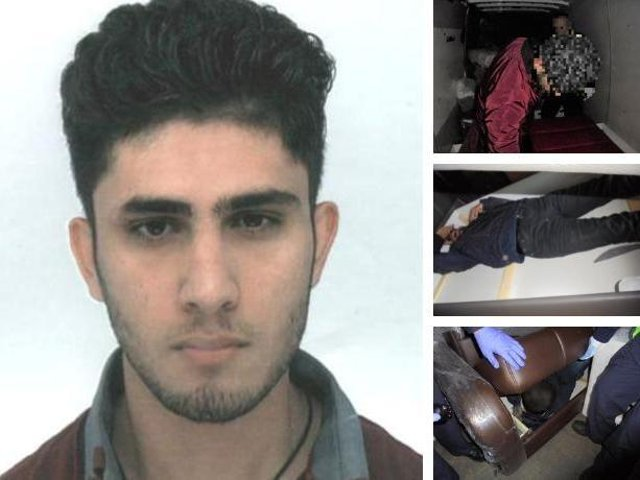 Arman Yusuf Rahmani was sentenced to 2 years and 7 months at Preston Crown Court after pleading guilty to breaking UK immigration law. UK Border Force agents discovered illegal immigrants hidden inside sofas and smuggled into the UK in the back of vans hired without the drivers' knowledge