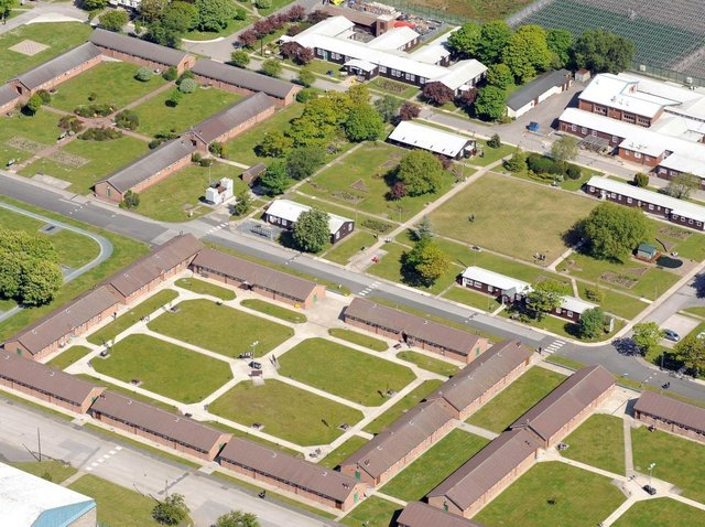 Kirkham Prison has submitted plans for a replacement gym and new sports pitches