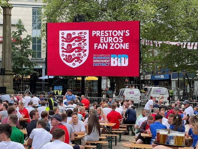 The Preston Fan Zone
