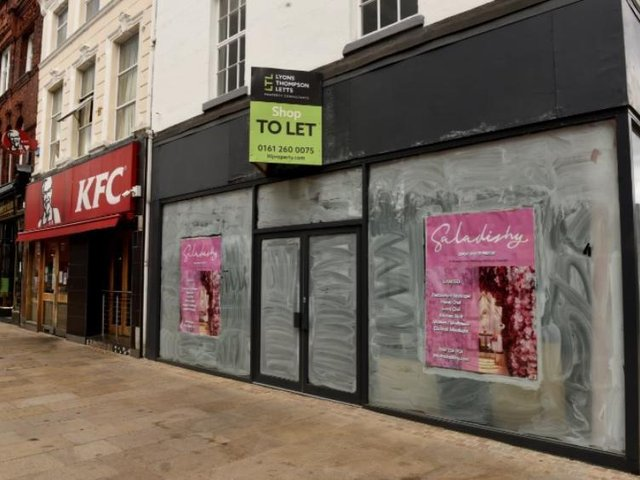 The former Santander branch will become a swish new healthy eating restaurant.