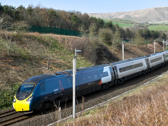 The attempt at setting a new record will be made by a nine-carriage Pendolino train named Royal Scot. (Credit: Chris Milner)