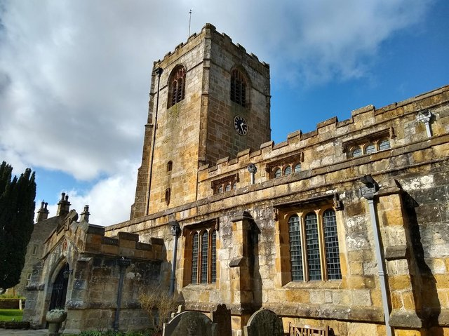 St Michael's Church, Kirkby Malham, which is hosting an exhibition as part of the Walter Morrison festival this summer.