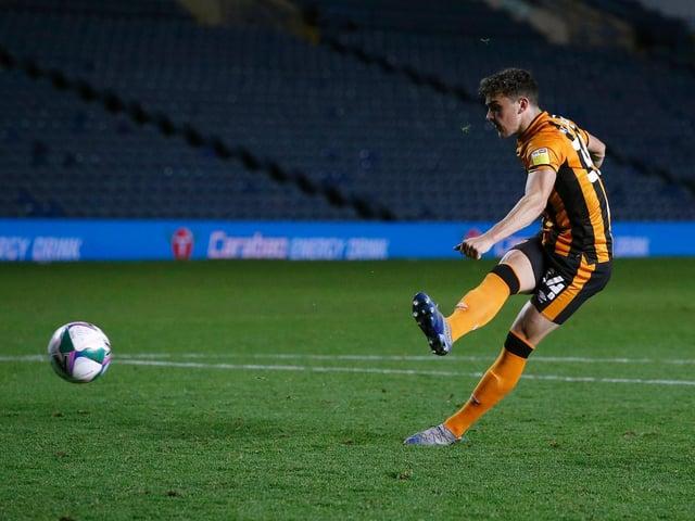 Hull City's Callum Jones has joined Morecambe on loan