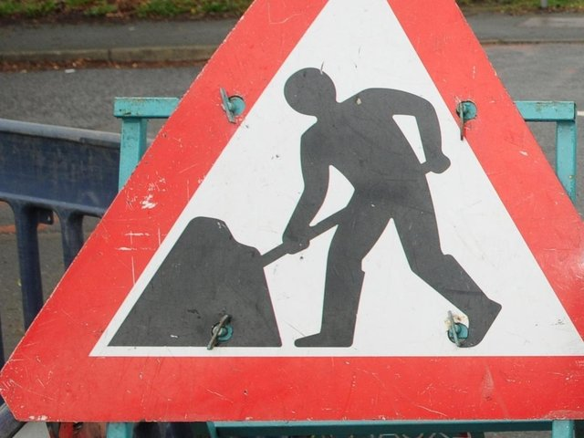 There will be roadworks on sections of the motorway and major roads around Preston and the Fylde over the coming week