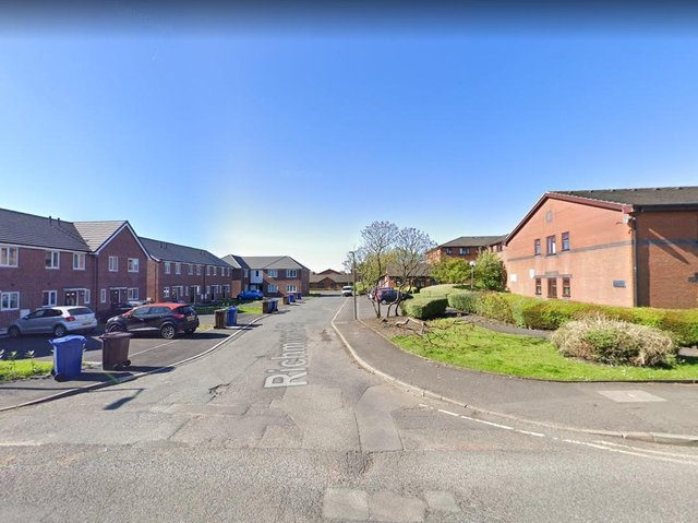 The 999 call was made after food being cooked at a home in Richmond Court, Chorley caught fire at 11.18pm last night (Thursday, June 17). Pic: Google