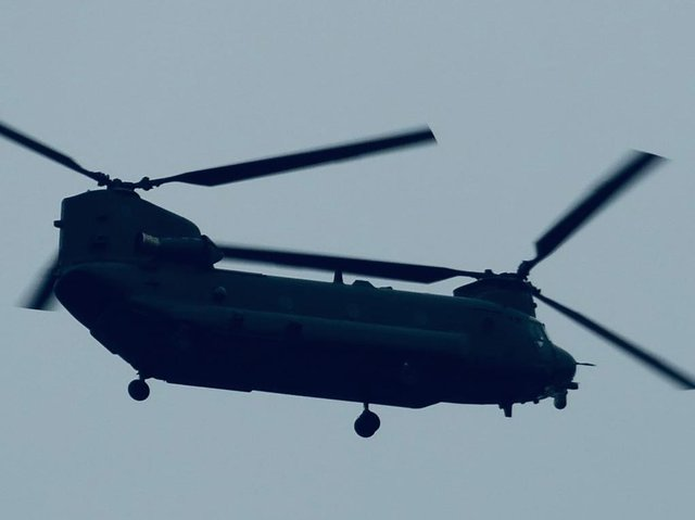 The RAF says the public should not be alarmed at the sight of the large helicopters, which are likely to operate in pairs with some training taking place in urban areas