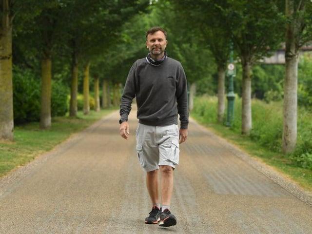 Robert Flood is hosting mental health support walks at Avenham Park
