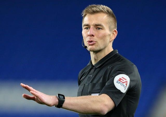Michael Salisbury will officiate in the Premier League next season