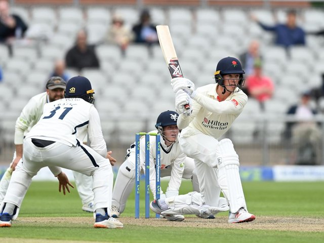 Keaton Jennings is in his fourth season with Lancashire