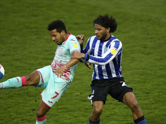 Izzy Brown in action for Sheffield Wednesday last season
