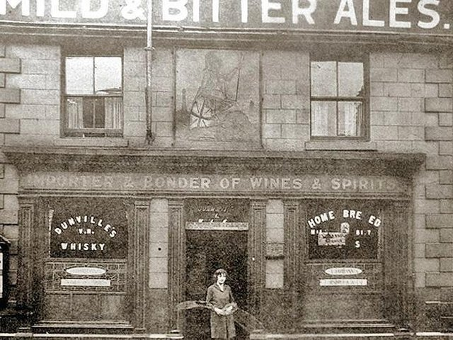 The Old Brittania on Friargate where Clarke had his watch stolen