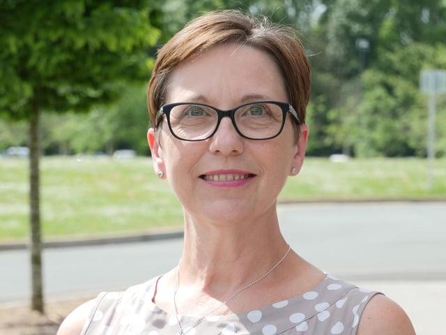 Louise Doswell, principal at Preston's College