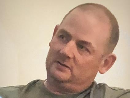 Craig Cheetham, 40, is described as around 5ft 5in tall, bald and of a medium build. He was last seen wearing black Nike tracksuit bottoms, black and orange Nike trainers, a black Stone Island jacket and a black Hugo Boss t-shirt with gold print. Pic: Lancashire Police