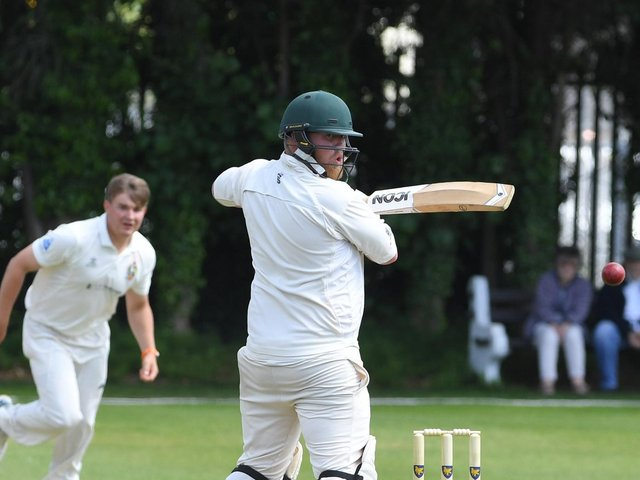 Penwortham's Martyn Brierley scored 48 in his side's win against Vernon Carus at Middleforth Green