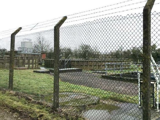 The existing wastewater treatment works off Longrigde Road in Chipping, which will be mostly demolished when the new facility is built (image: Lancashire County Council)