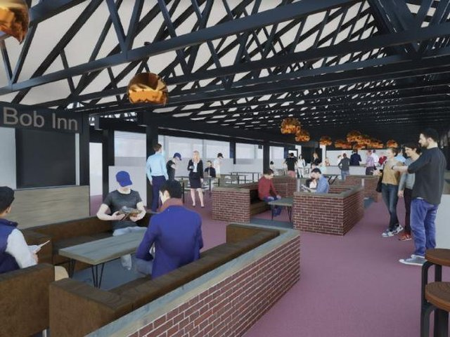 An image of the new look covered market