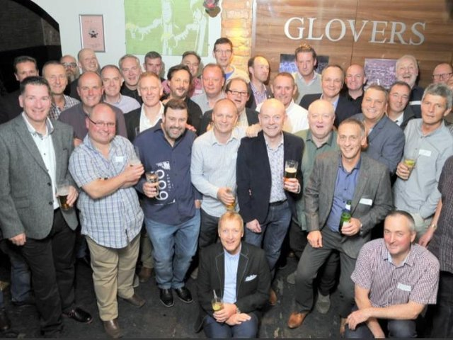 The Class of 77 at their reunion in 2016.