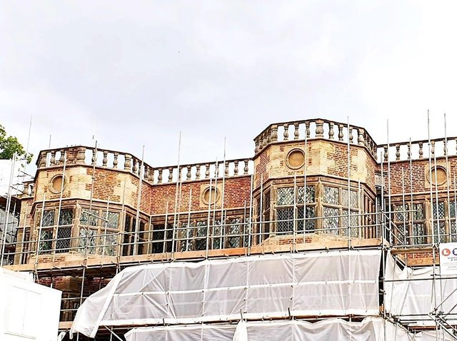 Astley Hall's new look being revealed