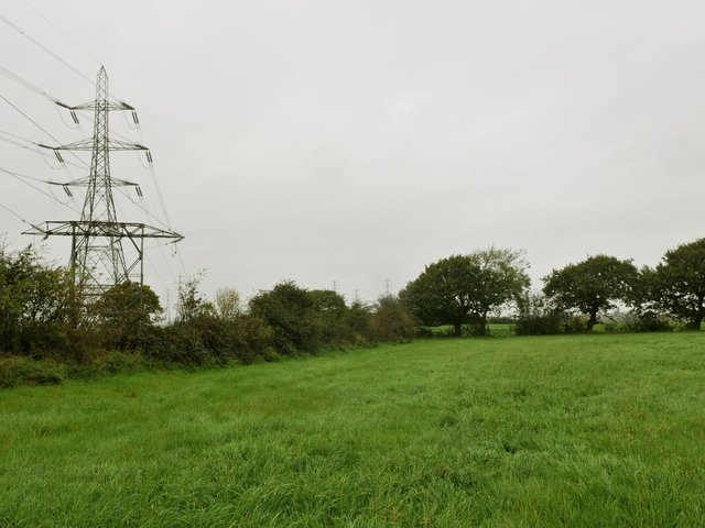 Fields in Penwortham where the top-up plant could be built