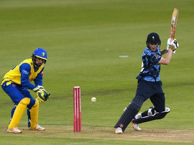 Harry Brook of Yorkshire averages over 115 in the Vitality Blast