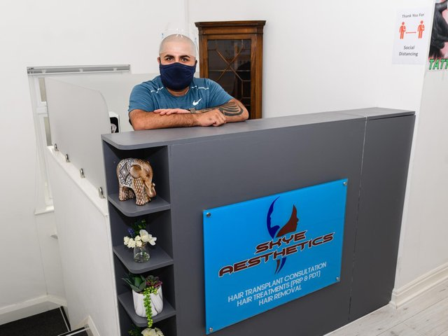 Allan Antonio, owner of Skye Aesthetics