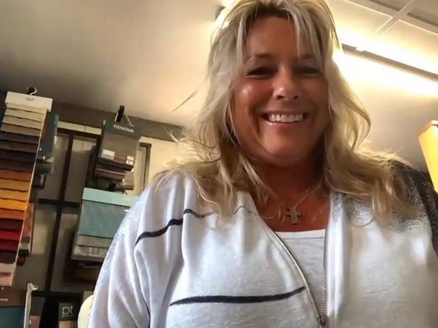 People's Postcode Lottery winner Janet Langson, of Charnock Richard