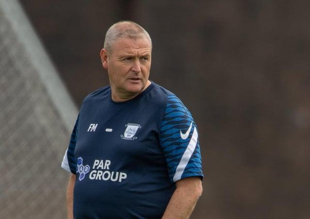 Preston North End head coach Frankie McAvoy (photo courtesy of PNE)