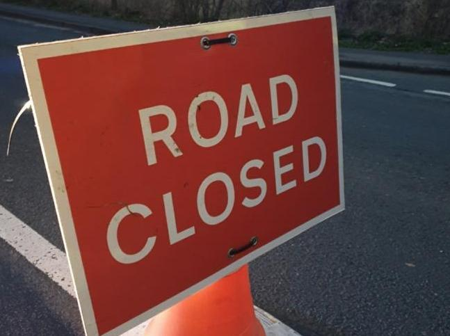 Two crash casualties taken to hospital as M65 remains closed this morning for road resurfacing
