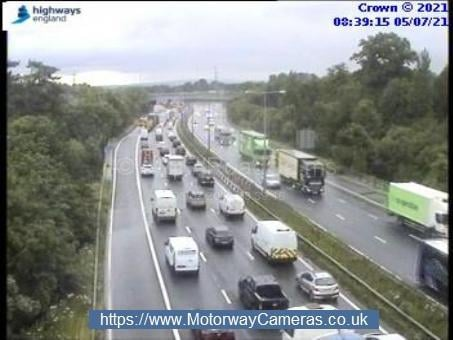The M65 has been closed in both directions between J1 and J1a due to a fuel spillage, whilst the M6 exit slip road at junction 29 (Bamber Bridge Interchange) has also been shut